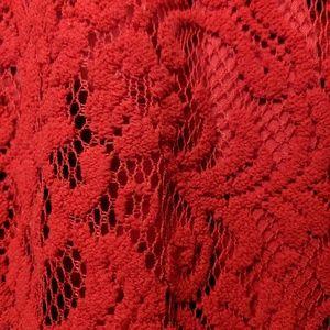 Sharagano Dresses - Red A-line dress